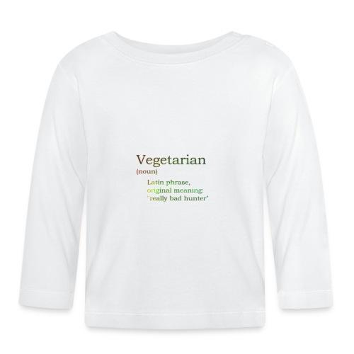 funny-vegetarian - Baby Long Sleeve T-Shirt