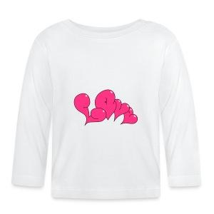 Love Bubble heart Style - Baby Langarmshirt