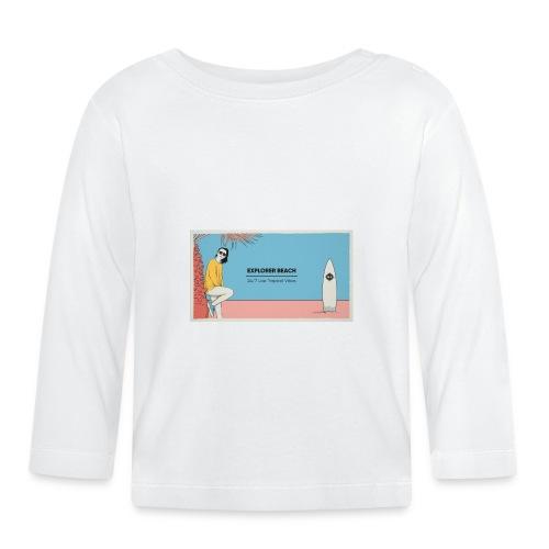 Noise Explorer Beach Test - T-shirt manches longues Bébé