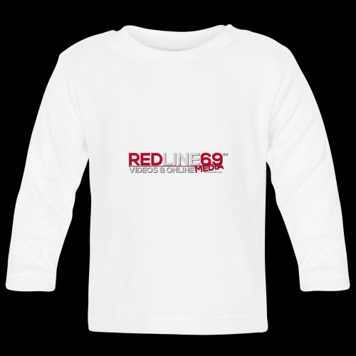 Redline69 Media Logo - Baby Long Sleeve T-Shirt