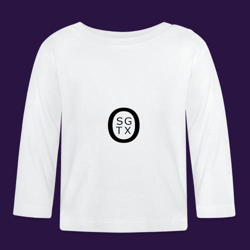 Logo Noir - T-shirt manches longues Bébé