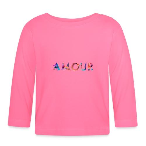 Amour - T-shirt manches longues Bébé