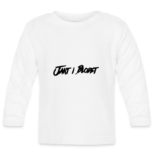 Svart vit mössa. jakt i blodet - Långärmad T-shirt baby