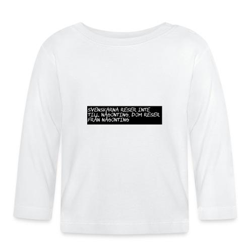 Sällskapsresan - Långärmad T-shirt baby