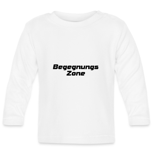 Begegnungszone - Baby Langarmshirt