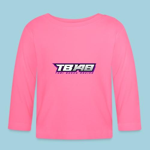 Tob Logo Lila - Baby Langarmshirt