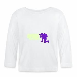 Logo Albyphoto Viola & Giallino - Maglietta a manica lunga per bambini