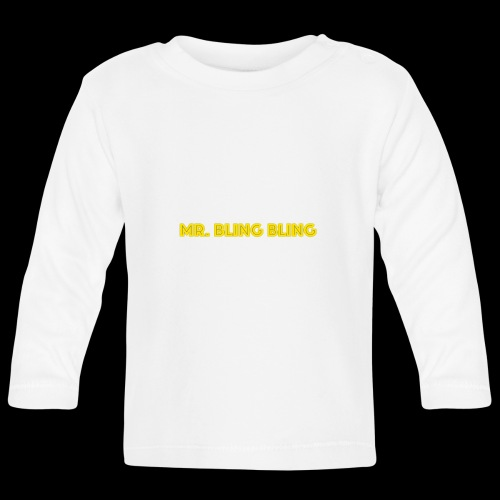 bling bling - Baby Langarmshirt