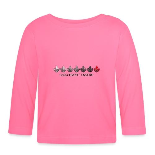 Loading Hearts - Pfadfinder Lilien - Baby Langarmshirt