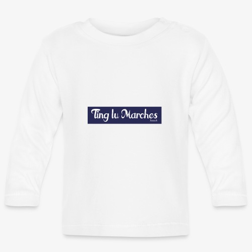 Ting lu Marches - Maglietta a manica lunga per bambini