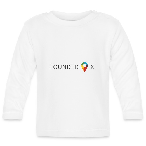 FoundedX logo png - Baby Long Sleeve T-Shirt