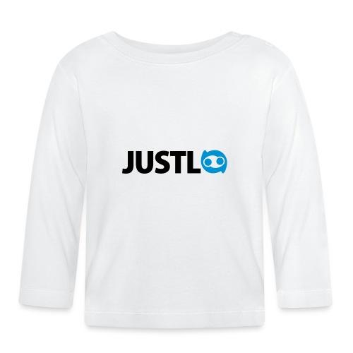 Justlo Logo - Baby Langarmshirt