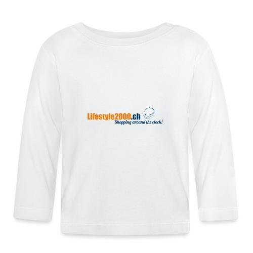 lifestyle 2000 Original Logo - Baby Langarmshirt