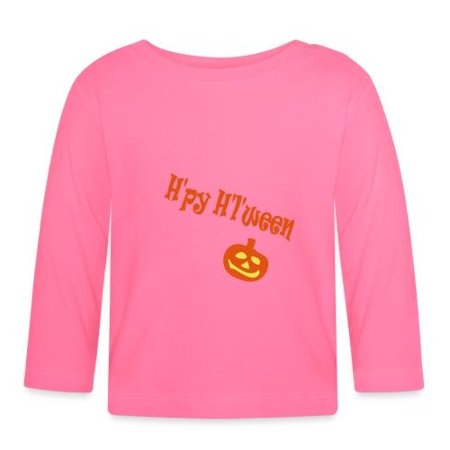 Happy Halloween - Baby Langarmshirt