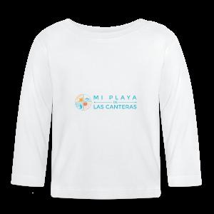 Mi playa de Las Canteras - Camiseta manga larga bebé