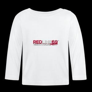 Redline69 Media Logo - Baby Long Sleeve T-Shirt