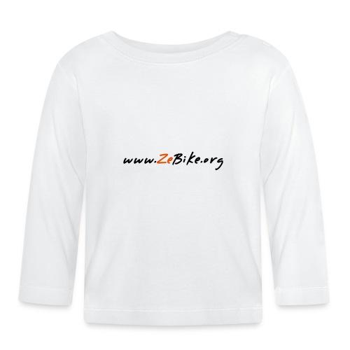 wwwzebikeorg s - T-shirt manches longues Bébé