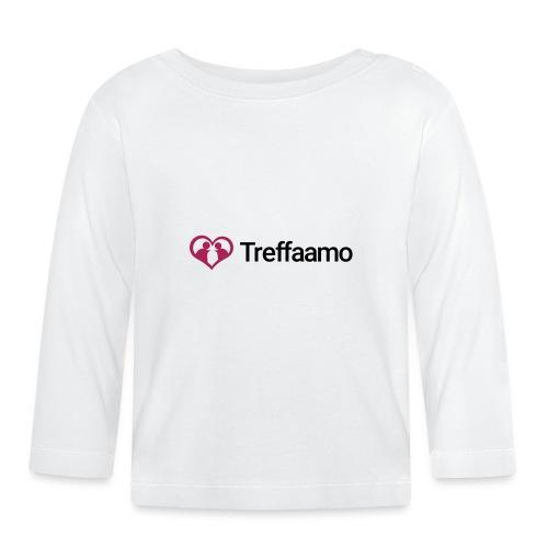 treffaamo-logo-vaaka - Vauvan pitkähihainen paita