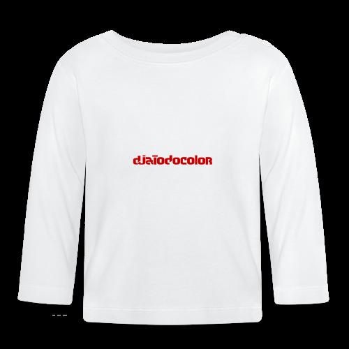 DJATODOCOLOR LOGO ROJO - Camiseta manga larga bebé