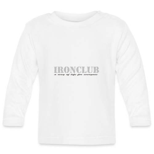 IRONCLUB - a way of life for everyone - Langarmet baby-T-skjorte