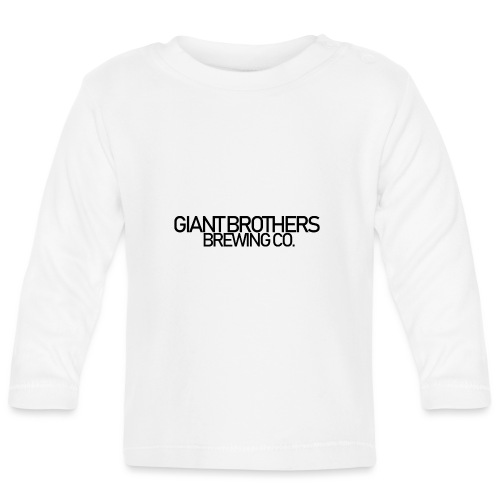 Giant Brothers Brewing co SVART - Långärmad T-shirt baby