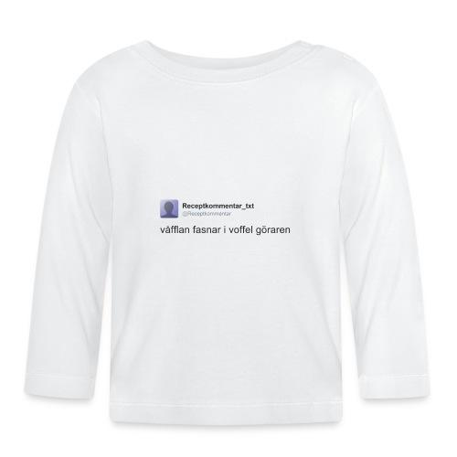 Voffel goraren - Långärmad T-shirt baby