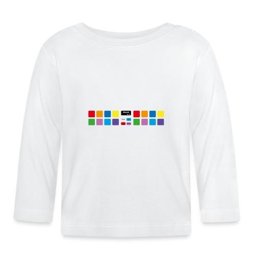 PDJ-UK-PADS-V1 - Baby Long Sleeve T-Shirt