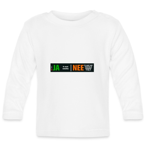 Ja ik maak websites - T-shirt