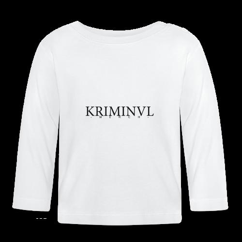 KRIMINVL'MERCH - Baby Langarmshirt