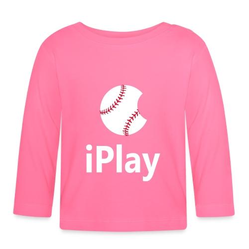 Baseball Logo iPlay - Baby Long Sleeve T-Shirt