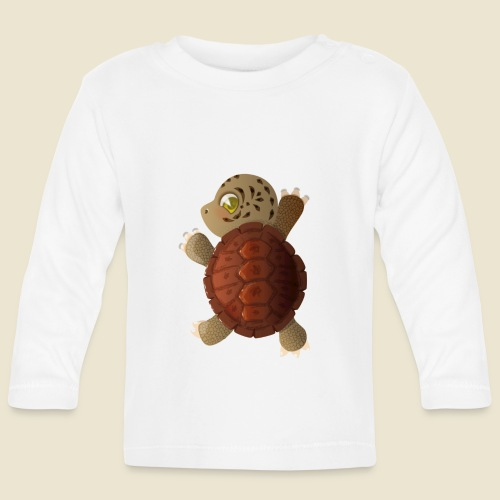 Bébé tortue - T-shirt manches longues Bébé