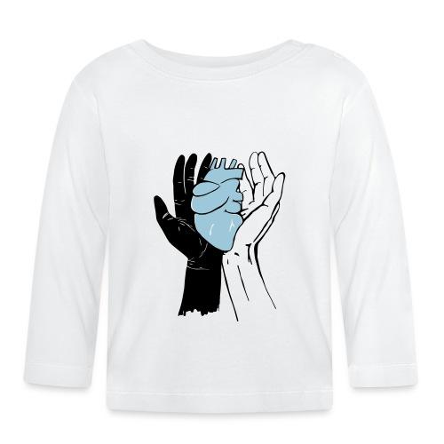 Black And White - Same Hart - Baby Langarmshirt