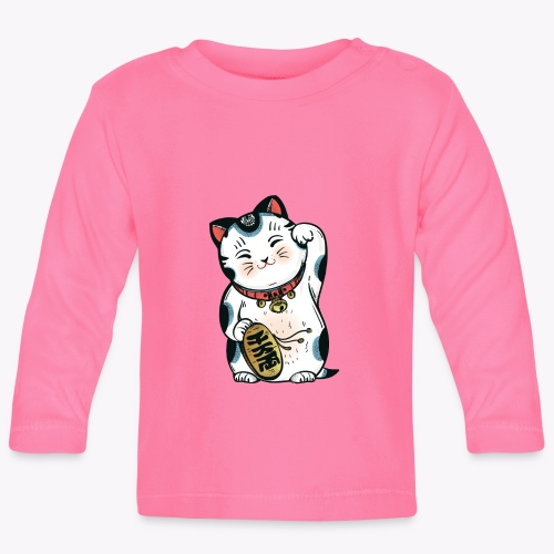 The Lucky Cat - Baby Long Sleeve T-Shirt