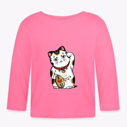 Love Lucky Cat - Baby Long Sleeve T-Shirt