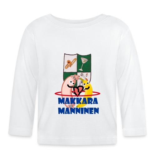 Makkara Manninen -vauvan body - Vauvan pitkähihainen paita