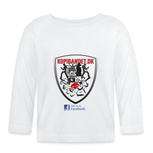 KopiBandet.DK find us on facebook - Langærmet babyshirt