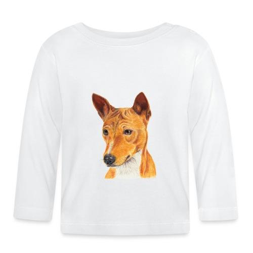 Basenji - Langærmet babyshirt