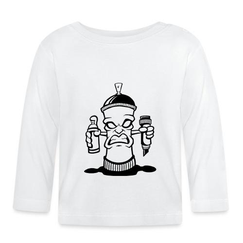 Graffiti Spraydose - Baby Langarmshirt