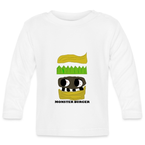 MONSTER BURGER - Baby Langarmshirt