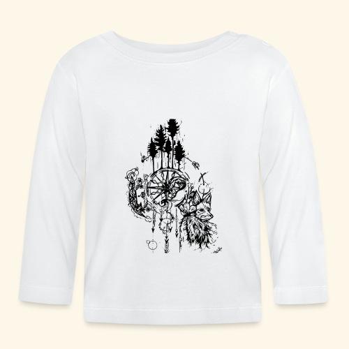 renard nature - T-shirt manches longues Bébé