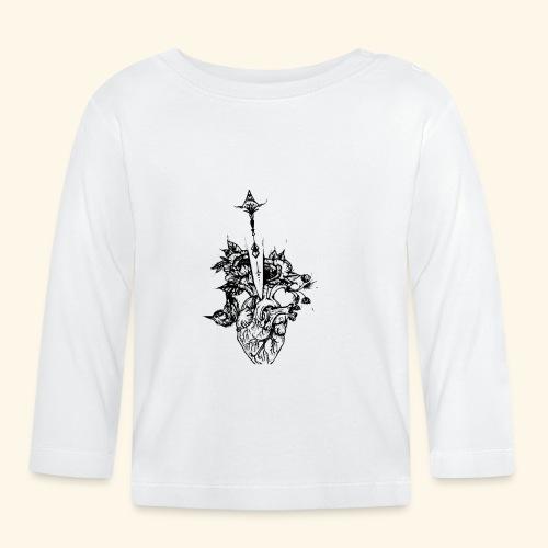 la nature du coeur - T-shirt manches longues Bébé