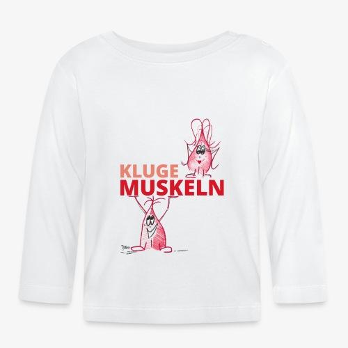 Kluge Muskeln - Baby Langarmshirt