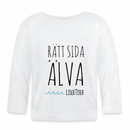 Rätt sida Älva - Långärmad T-shirt baby