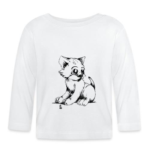 Chaton - T-shirt manches longues Bébé