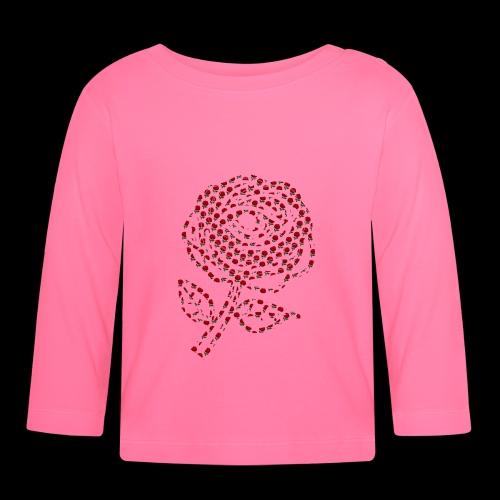 Rose aus Rosen - Baby Langarmshirt