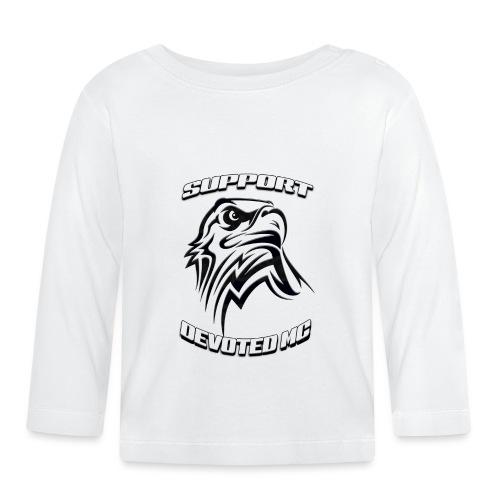 SUPPORT DEVOTEDMC E - Langarmet baby-T-skjorte