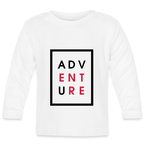 Enter Adventure - Baby Long Sleeve T-Shirt