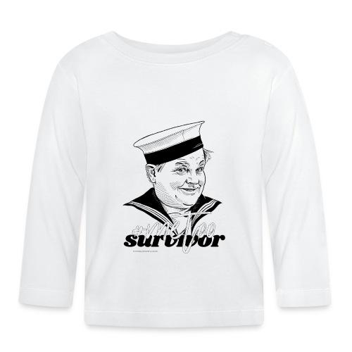 #metoo survivor - Langærmet babyshirt