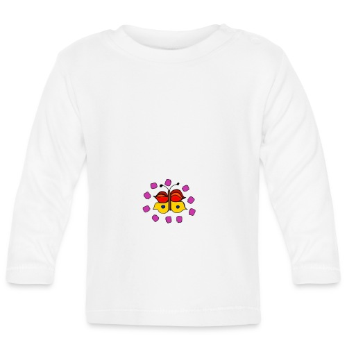 Butterfly colorful - Baby Long Sleeve T-Shirt
