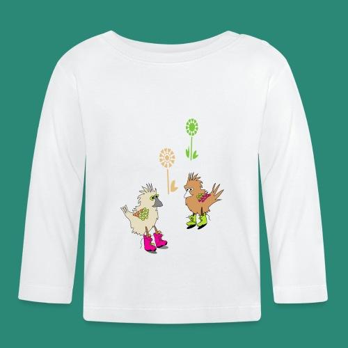 bunte vögel,Colorful birds - Baby Langarmshirt